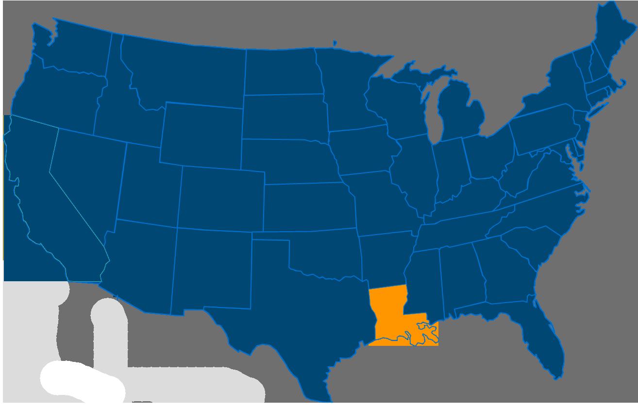 Cost of leasing a vending machine in Louisiana