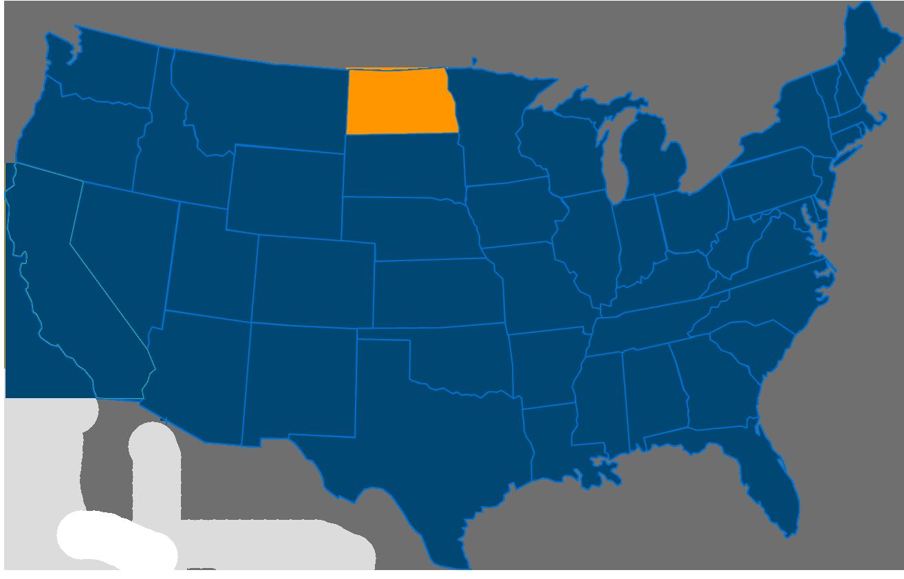 Cost of leasing a vending machine in North Dakota