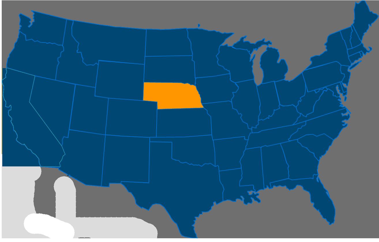 Cost of leasing a vending machine in Nebraska