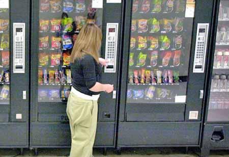 Vending machines in Machines