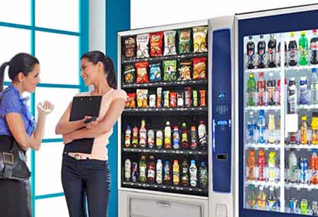 Lease snack and drink machines California