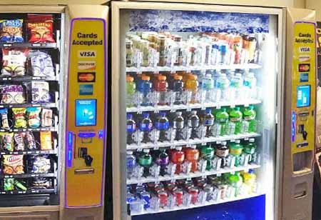 soda machines Maine