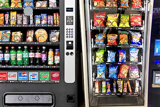 Vending machines you can lease